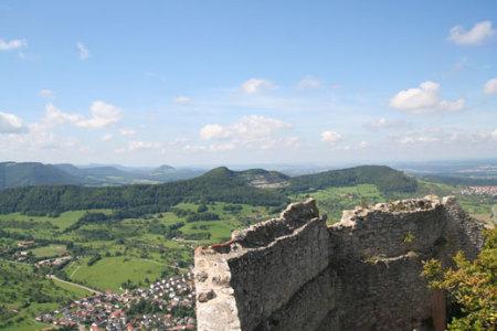 Neuffen mit der Burg Hohenneuffen